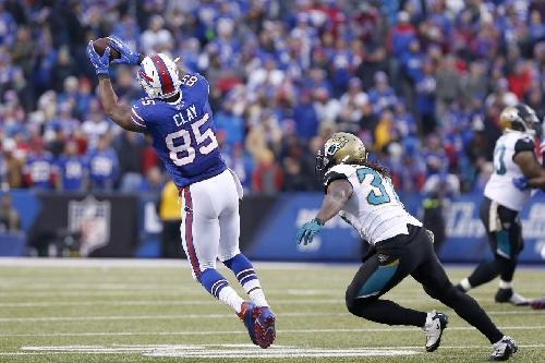 Buffalo Bills vs Oakland Raiders inactives: No Charles Clay, Mike Gillislee active
