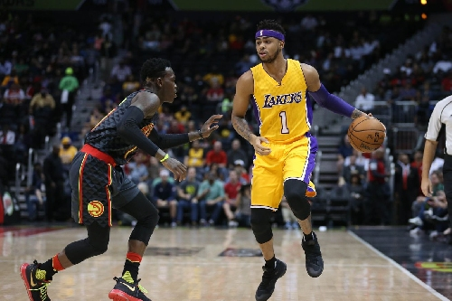 D'Angelo Russell wants the Lakers to be in the NBA Finals next year