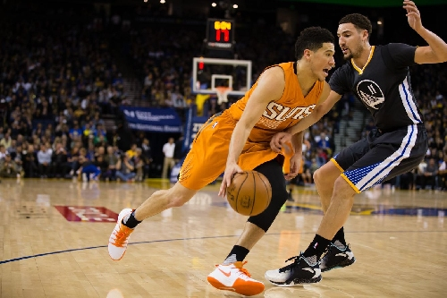 Highlights: Bledsoe gets 27, Booker gets 21 for Suns in loss to Golden State