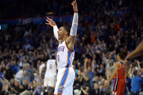 Russell Westbrook named Western Conference Kia NBA Player of the Month for October and November