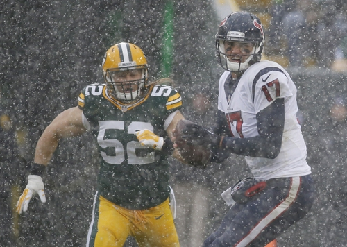 Packers get back to .500, beat Texans 21-13 The Associated Press