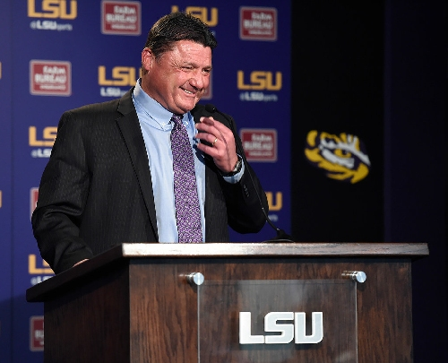 Watch Ed Orgeron Citrus Bowl press conference live with updates, 5:30 p.m.