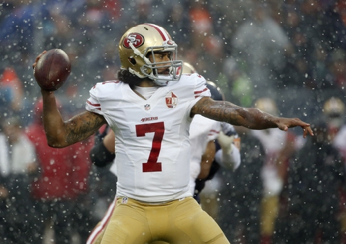 Kaepernick struggles as 49ers lose 26-6 to Chicago The Associated Press