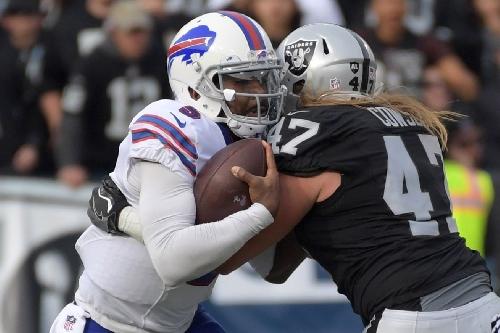 Raiders 38, Bills 24: 29. Unanswered. Points.