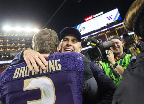 While the wait Sunday was a bit nervous, the Huskies have come a long way in a short time