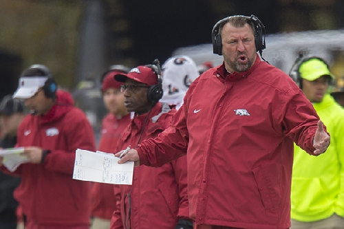 Virginia Tech 'inadvertently omitted' from Bielema's top 25 ballot