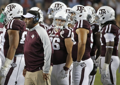 From CFP contender to Texas Bowl: What does A&M plummet mean for Kevin Sumlin, Aggies' program?