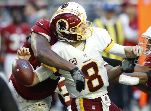 Cousins comes up short in Redskins' loss to Cardinals The Associated Press