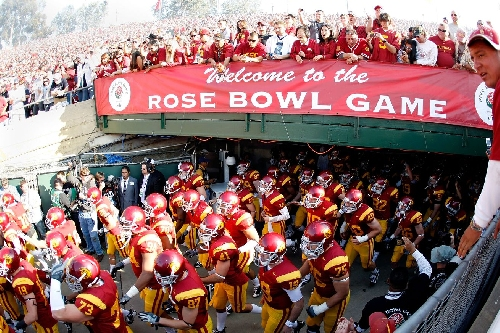 USC Trojans headed to the Rose Bowl to play Penn State Nittany Lions