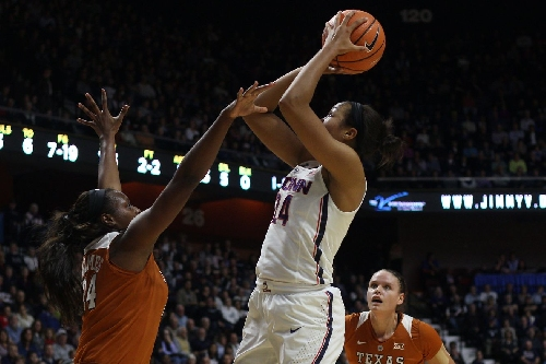 UConn Women's Basketball Takes Down Texas, 72-54
