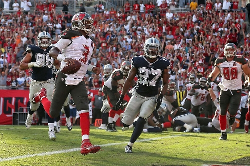 Buccaneers vs. Cowboys flexed to Sunday Night Football
