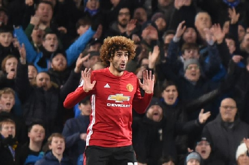 Marouane Fellaini hammered by Manchester United great Gary Neville