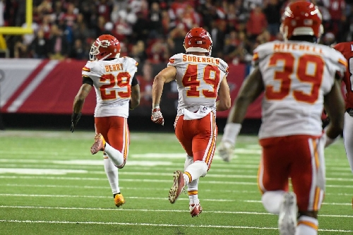 Mitch Holthus calls Eric Berry's pick-two, the Chiefs game winning interception