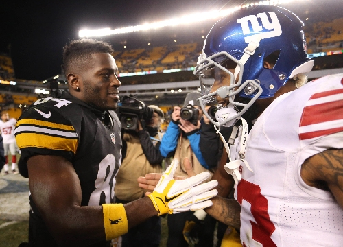 Giants' Odell Beckham: 'Can't sit there and worry' about Antonio Brown bromance critics
