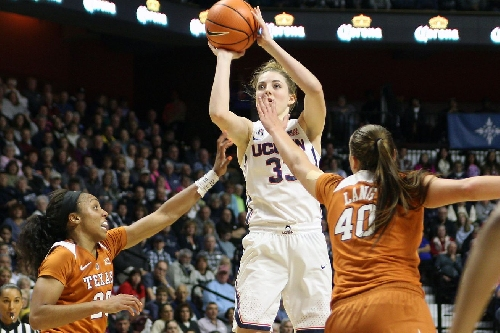 Photos-WBB: Texas Longhorns vs UConn Huskies - 12/4/16