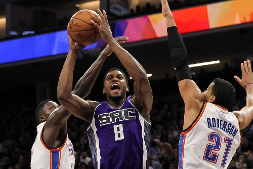 Rudy Gay: are you the one for the Oklahoma City Thunder?