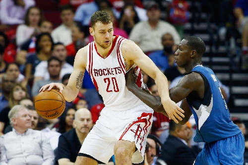 The Rockets should match the offer for Donatas Motiejunas