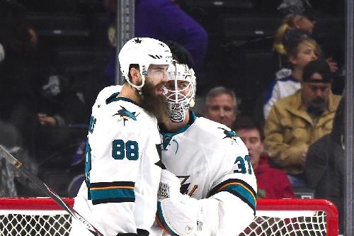 Martin Jones named NHL's third star of week