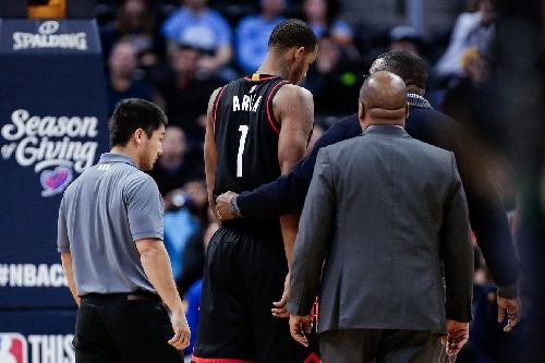 Trevor Ariza is questionable for tonight's game