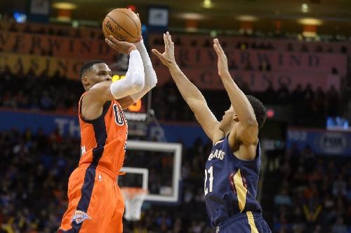 Russell Westbrook named Western Conference Player of the Week after leading OKC to 3-0 record