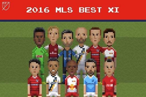 Giovani dos Santos and Jelle Van Damme make MLS 2016 Best XI