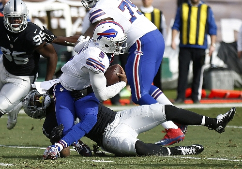 Bills QB Taylor not immune from blame after loss to Raiders The Associated Press