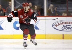 Perlini's strong start earns Coyotes promotion