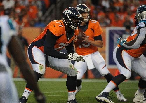 Donald Stephenson reclaims Broncos' full-time right tackle job, competition with Ty Sambrailo woke him up