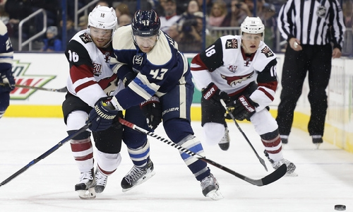 Blue Jackets sweep series from Coyotes with 4-1 win The Associated Press