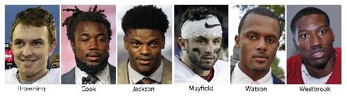 Heisman finalists: Jackson, Watson, Peppers, 2 Sooners The Associated Press