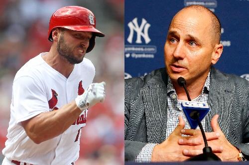 Cashman vaguely explains why Yankees grabbed Matt Holliday