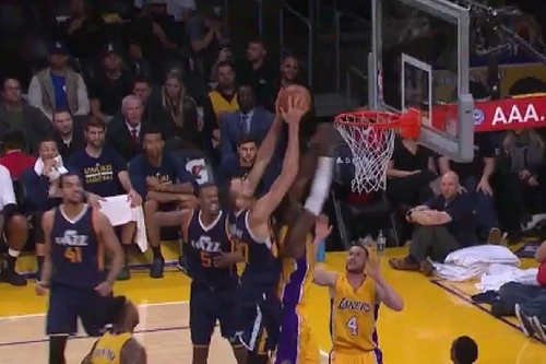 Rudy Gobert tweets that he fouled Julius Randle with his, um, 'third arm'