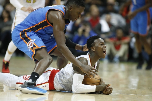 Locked on Hawks podcast: Thunder recap, lineup change and more