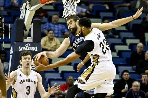 Final Score: Gasol, Grizz Tame Pelicans in Double OT, 110-108