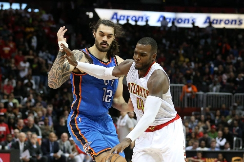 Hawks come up short again in loss to Thunder