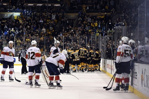 Panthers fall 4-3 in overtime to Bruins