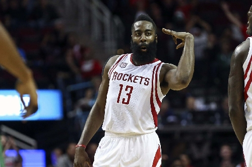 James Harden gets Monday night's game ball