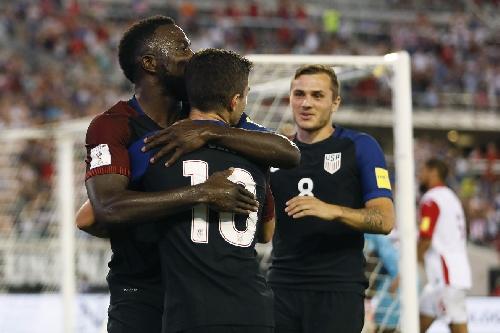 Jordan Morris exchanges praise with Michael Bradley, Jozy Altidore ahead of MLS Cup Final