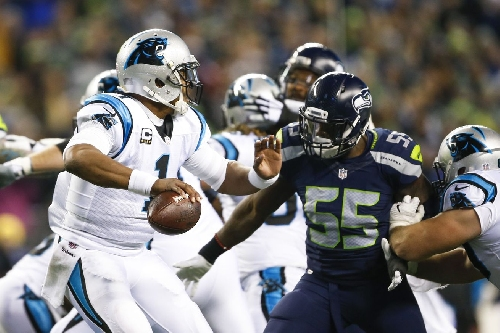 How come Cliff Avril, Frank Clark and the Seahawks sack artists didn't wrap up Cam Newton?