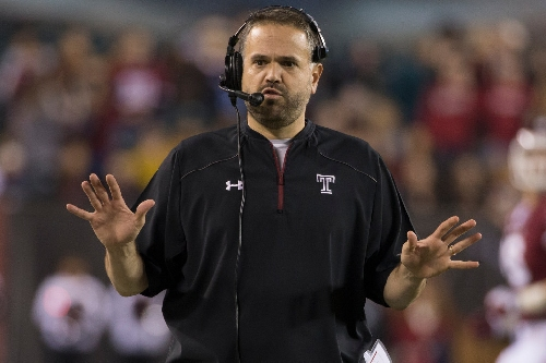 Baylor hires Temple's Matt Rhule as next head football coach