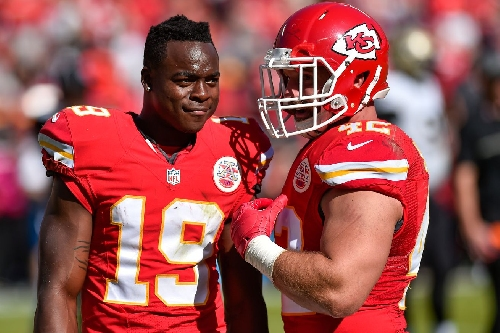 Sounds like Jeremy Maclin will probably play against the Raiders