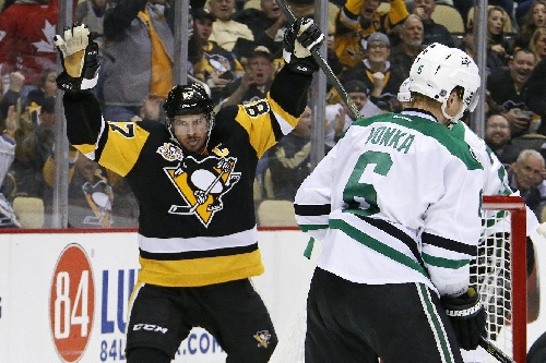Sid's Surge: Crosby on a goal-scoring tear for Penguins The Associated Press