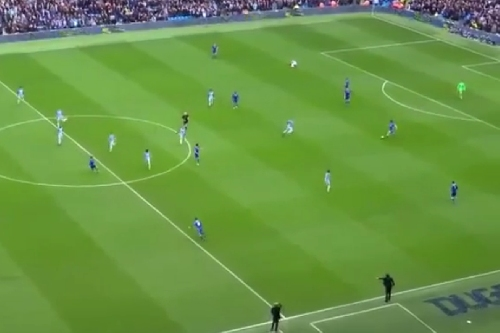 David Luiz vs. Manchester City: Four minutes of clearances, interceptions, and glorious long passes