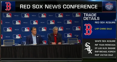 Dombrowski Presser: Chris Sale Deal 'Accelerated' On Friday