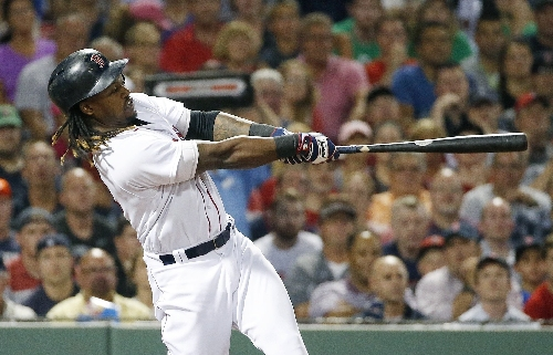 Hanely Ramirez to get more at-bats as Red Sox DH, Mitch Moreland at first