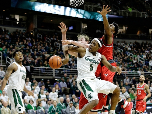 Michigan State pulls away in second half to beat Youngstown State by 20