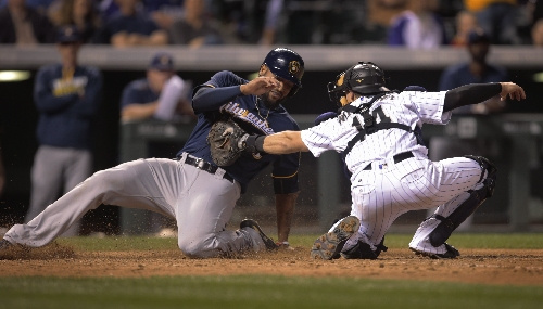 Rockies confident Tom Murphy, Tony Wolters can handle catching duties