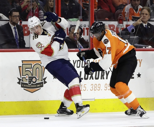 Voracek, Simmonds lift Flyers to sixth straight win The Associated Press