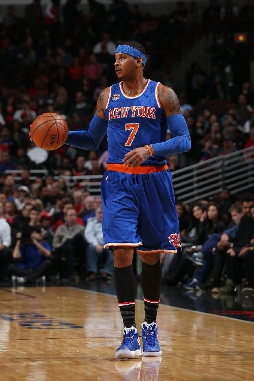 Anthony scores 35, Knicks beat depleted Heat 114-103 The Associated Press