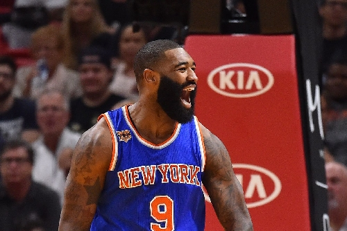 Knicks 114, Heat 103: Scenes from the Kymelo O'Quinthony show